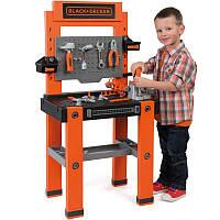 Большая детская мастерская с инструментами (79 аксессуаров) Black&Decker Bricolo Smoby 360700