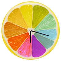 Часы настенные круглые с принтом