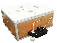 Инкубатор автоматический «Курочка Ряба» ИБ-130 вместимостью 130 яиц с двойным пластиковым корпусом