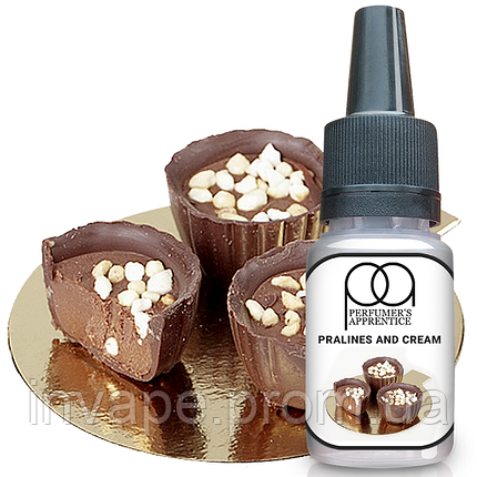 Ароматизатор TPA Pralines and Cream (Пралине с кремом) 5мл, фото 2
