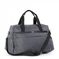Сумка Dolly 778 спортивная, дорожная большая 47L с карманами три цвета 60 см * 33 см * 30 см Серый, фото 1