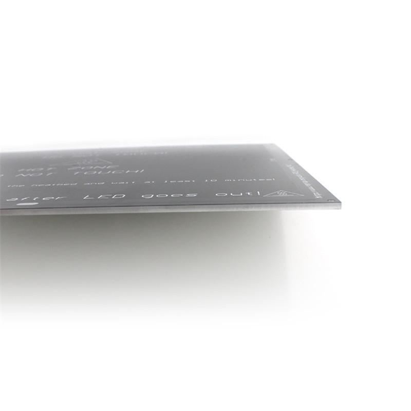 Нагревательный стол MK2A (300х300) алюминиевый