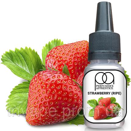 Ароматизатор TPA Strawberry (Ripe) (Спелая клубника) 5мл, фото 2