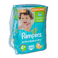 Подгузники Pampers Active Baby-Dry Размер 4+ (Maxi+) 9-16 кг 03aa84a620a