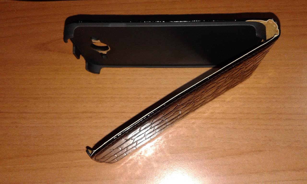 Чехол-флип для Samsung i9152 черный