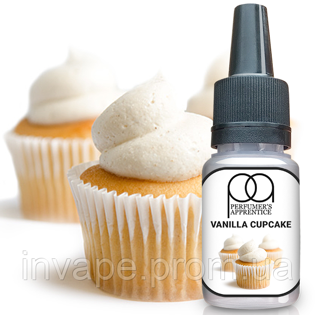 Ароматизатор TPA Vanilla Cupcake (Ванильный Кекс) 5мл