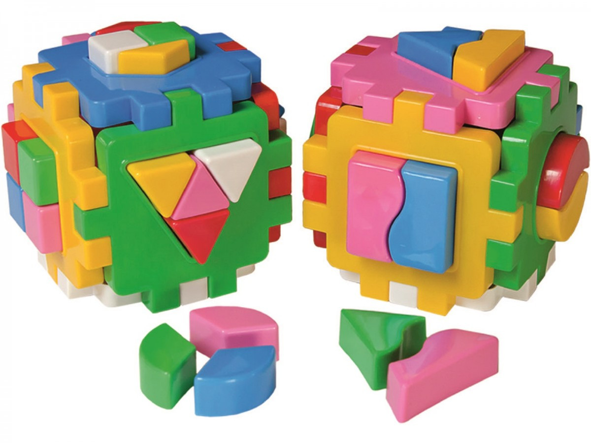 """Іграшка куб """"Розумний малюк Логіка-комбі ТехноК"""" 2476, в кульку 25×12×12 см"""