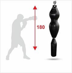 Манекен для боксу Бойко-Спорт, Силует, динамічний на ролику пвх тканина -180см