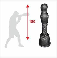 Манекен для боксу Бойко-Спорт, Силует, підлоговий пвх тканина -180см