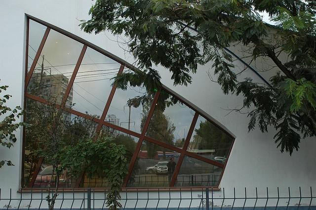 Алюминиевые витрины
