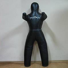 Манекен для ММА Бойко-Спорт, з ногами, шкіра, 160 см, 25-30 кг