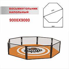 Клітка для мма підлогова діаметром 9,75 м