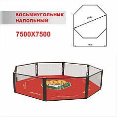 Клітка для мма підлогова діаметром 8,1 м
