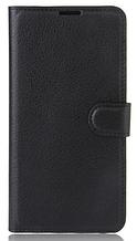 Кожаный чехол-книжка для Sony Xperia L1 G3312 G3313 черный