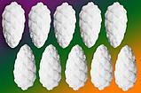 """Набір """"Пінопластові сніжинки 12шт. х 5см."""", фото 7"""