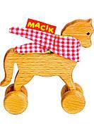 Каталка деревянная Macik MWood лошадка