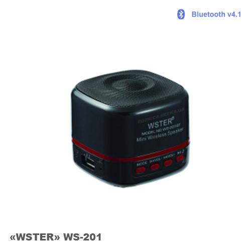 "Портативная колонка Bluetooth ""WSTER"" WS-201"