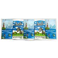 Салфетки бумажные SAIL (носовые платки) детские 1шт.