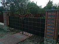 Ворота распашные кованые