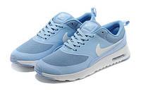 Кроссовки Nike Air Max Thea женские в голубом цвете, фото 1