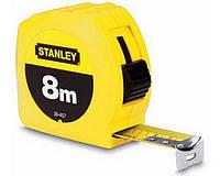 """Рулетка измерительная """"STANLEY"""", 8мх25мм, в пластмассовом корпусе.0-30-457"""