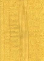 Махровое полотенце 50*100, 100% хлопок 500 гр/м2, Туркменистан, жёлтый классик с узором косичка