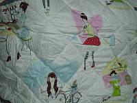 Одеяло детское шерстяное стеганное бязь - Овца, фото 1