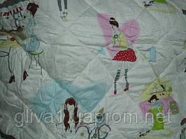 Одеяло детское шерстяное стеганное бязь - Овца