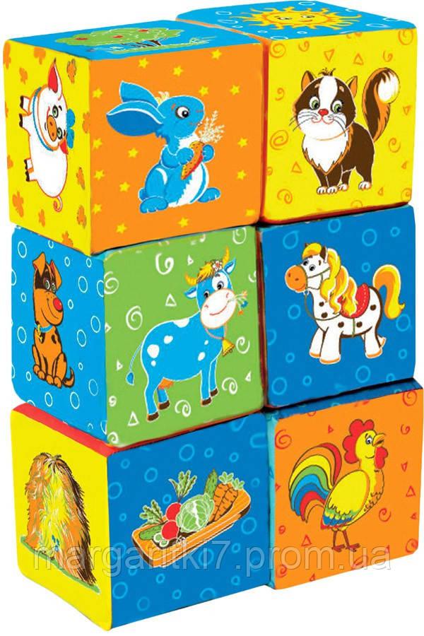 Кубики для детей Macik Ферма