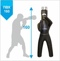 Манекен для боксу Бойко-Спорт, з ногами, ПВХ тканина прямий-160см, 45-55 кг