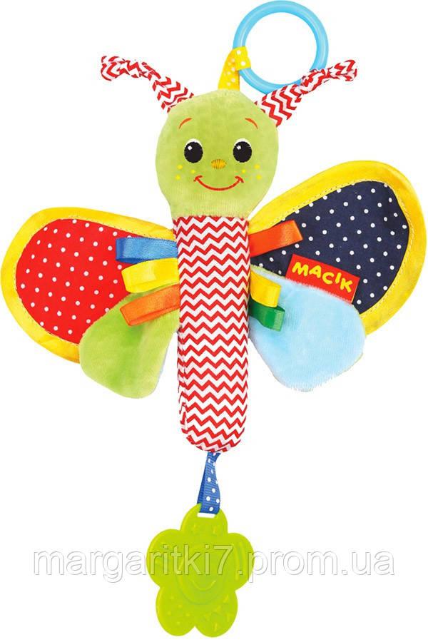 Погремушка для детей Macik Ферма бабочка