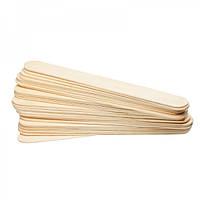 Шпатель деревянный для воска 100 шт