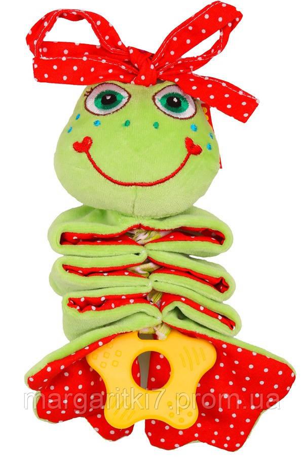 Подвеска детская с вибрацией Масiк Ферма жабка