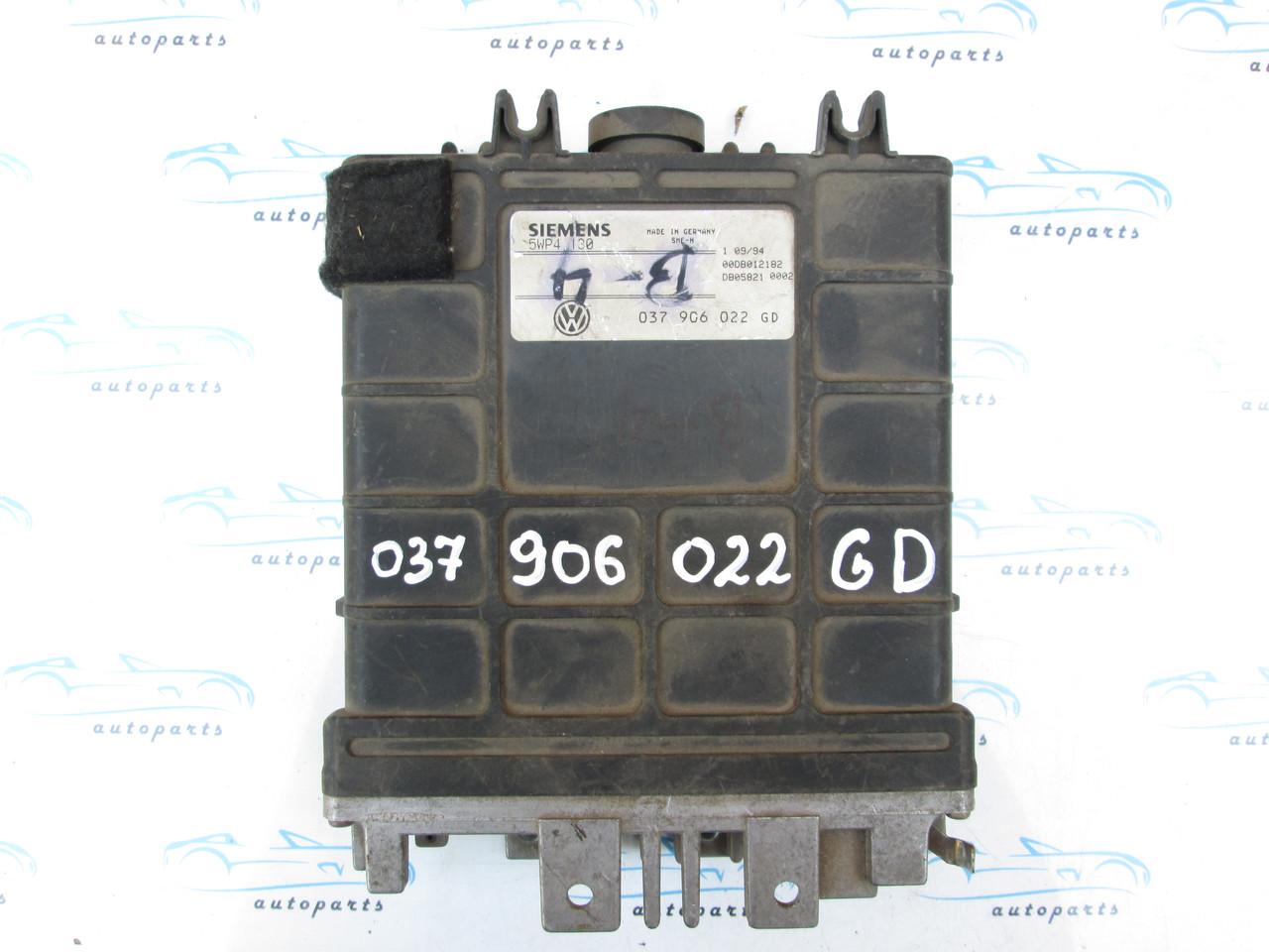 Блок управления VAG 037906022 GD, 5WP4130
