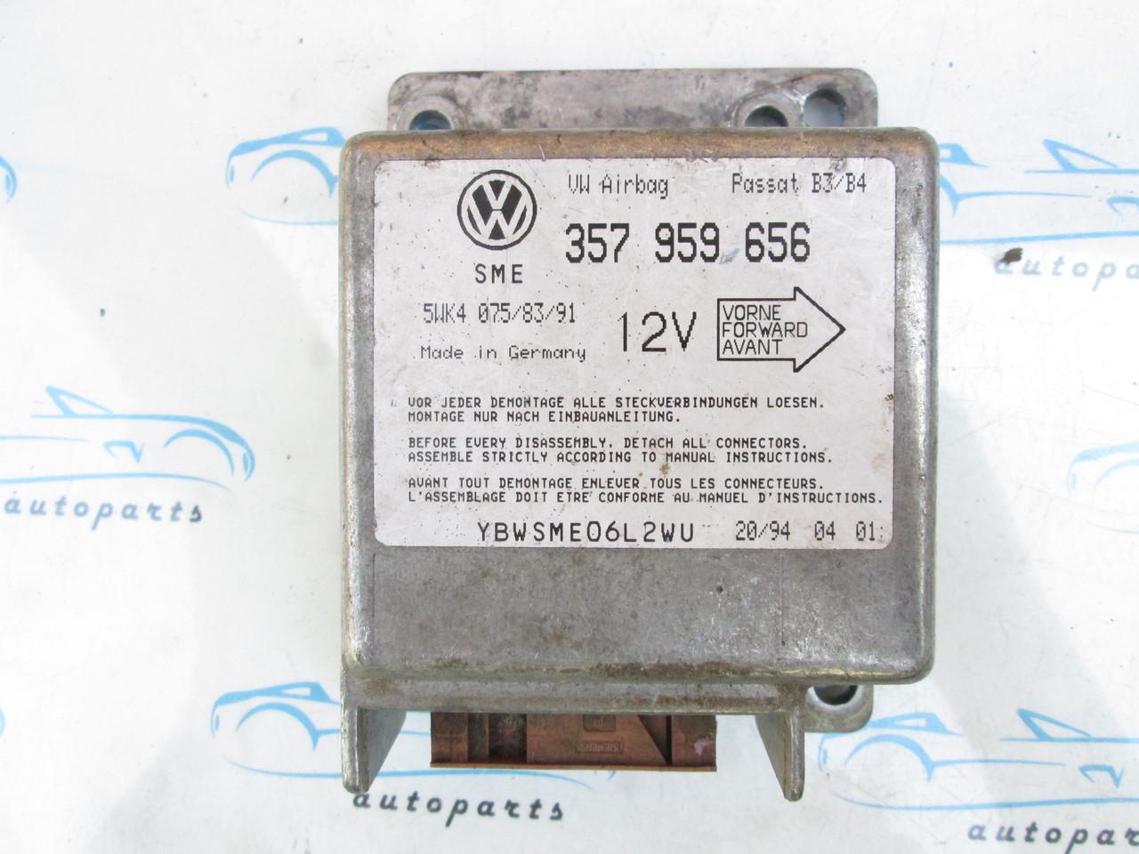 Блок управления VAG Airbag 357959656