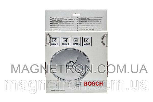 Диск для нарезки ломтиками (жульен) MUZ45AG1 для кухонных комбайнов Bosch 573025, фото 2