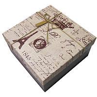 Коробка упаковочная SY 16,5*16,5*8см 2 вида микс 1919-29/2