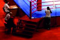 Сходи для рингу кутові збільшені