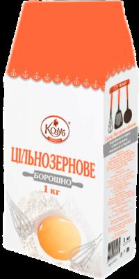 Мука пшеничная цельнозерновая, 1 кг.