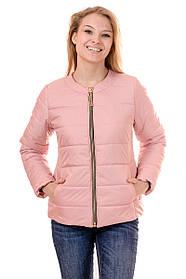 Женская демисезонная куртка IRVIC 44 Розовый IrC-FZ133-44, КОД: 259055