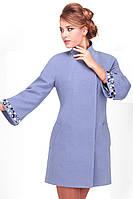Стильное оригинальное женское пальто, фото 1