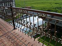 Балконное лестничное ограждение