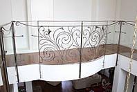 Балконное ограждение кованое