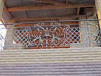 Балконное кованое ограждение