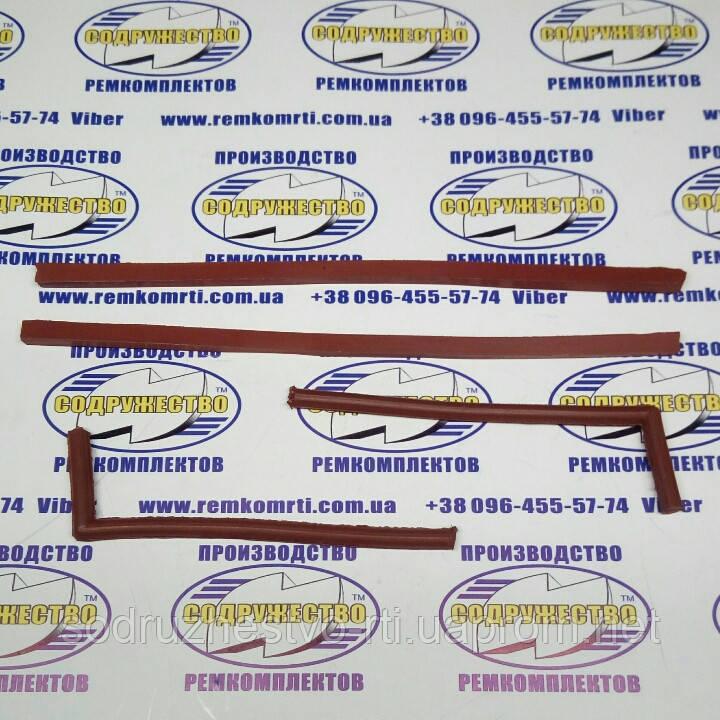 Ремкомплект уплотнение подшипника коленвала Д-65 ЮМЗ (красная резина)