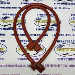 Ремкомплект уплотнение поддона (картера) Д-240 МТЗ (красная резина)