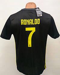 Футбольная форма детская Juventus/форма в стиле Adidas Juventus Ronaldo 2018-19/Акция формы Ювентус/Рональдо