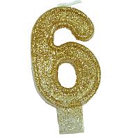 Свечи в торт (цифры) 6