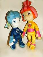 Герои типа фиксики Симка Нолик мягкие игрушки