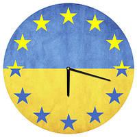 """Часы настенные d=36 см """"Ukraine"""" (36 штук)"""